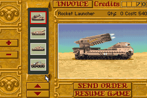Dune II: The Building of a Dynasty abandonware